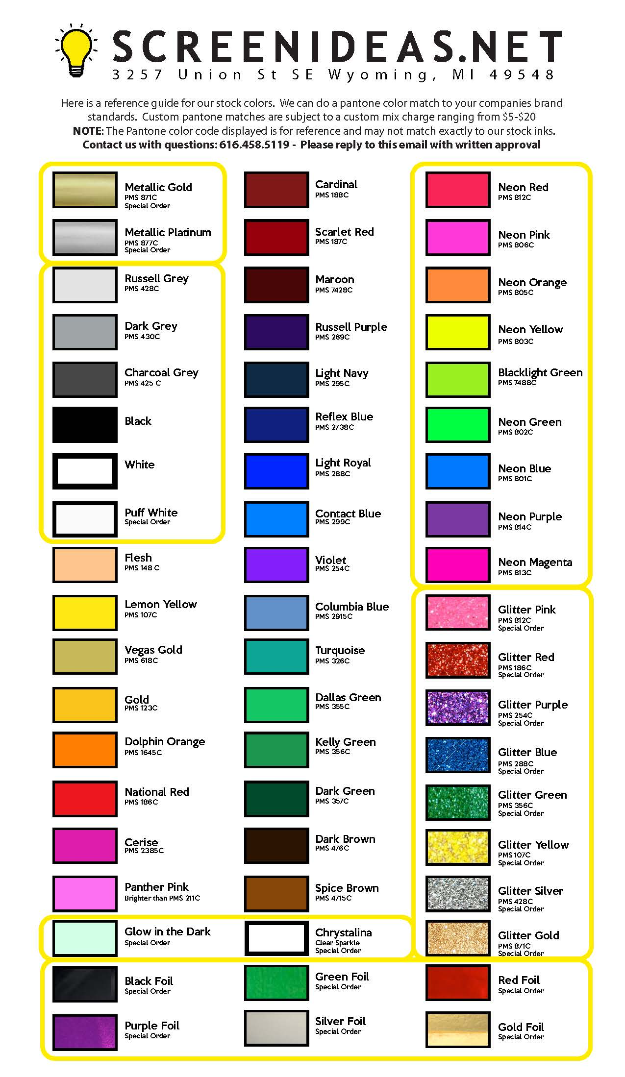 Quote view color chart nvjuhfo Image collections